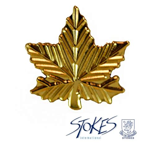 maple leaf gold pin pins