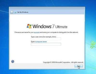 tutorial instal windows 7 di pc tutorial instal windows 7 beserta gambar nya