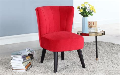 accent chairs with short seat depth scott velvet accent chair sofamania com