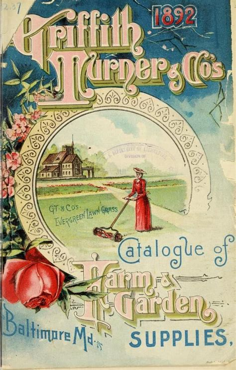 nursery and seed catalogs cover of griffith turner co s