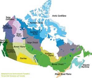 ecozone map of canada canada s ecozones evergreen