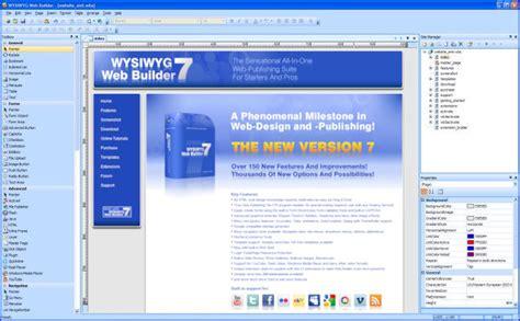 online tutorial builder wysiwyg web builder screenshot