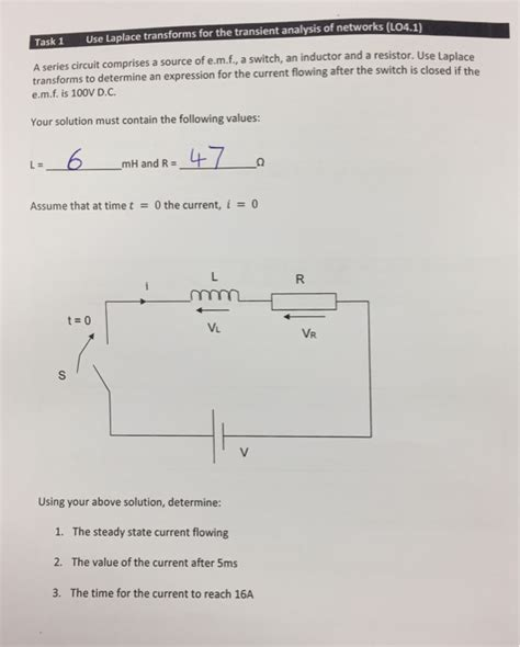 laplace transform inductor current electrical engineering archive june 01 2017 chegg