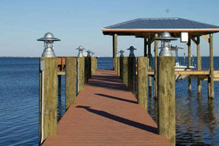 electric boat outside electrician dock lighting fixtures lighting ideas