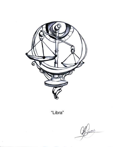 libra scales tattoo designs libra lucmg