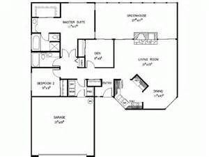 2 bedroom ranch floor plans modern ranch style house plans modern 2 bedroom house plan