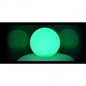 Lu Rgb boule lumineuse rgb rechargeable ip54