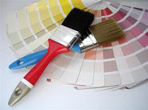 interior design tool tools equipment brush of interior paint design tool