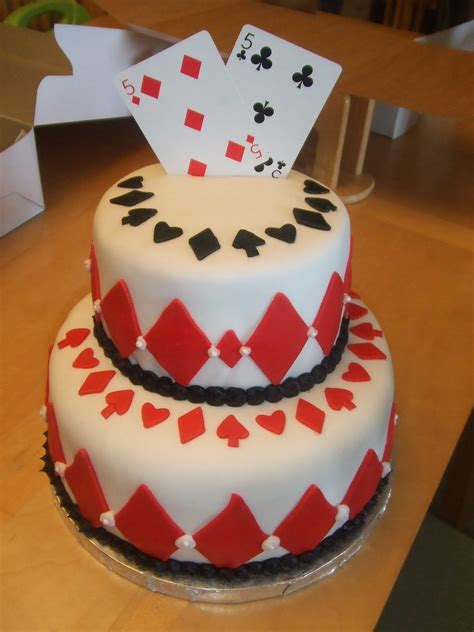 Gift Card Cake - playing card poker casino theme cakes and cupcakes cakes and cupcakes mumbai