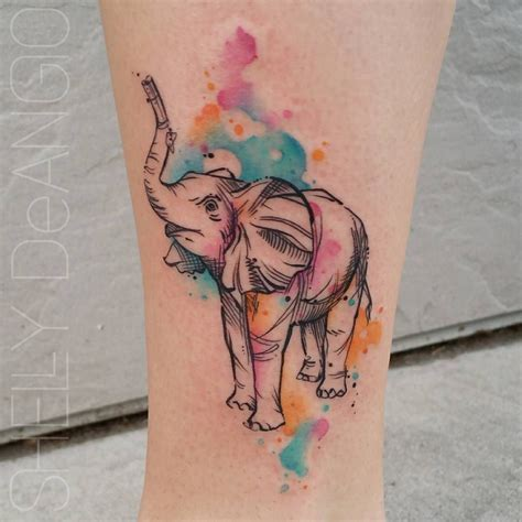 watercolor tattoo zetten see this instagram photo by shell shock tattoos 3 489