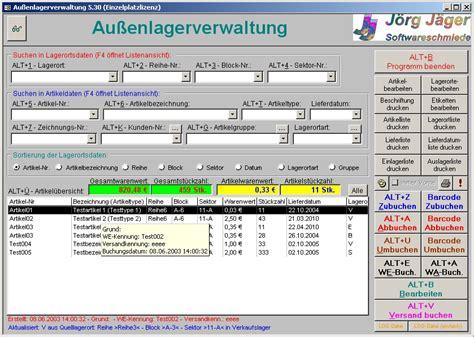 Etiketten Drucken Excel Vba by Au 223 Enlagerverwaltung F 252 R Access 2000 Download Freeware De
