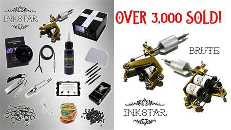 tattoo kits es inkstar tattoo kit 1 tattoo machine over 3 000 sold
