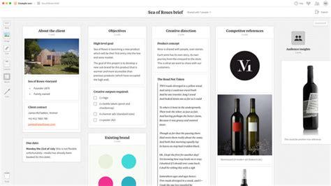 app design brief template storyboard app storyboard template milanote