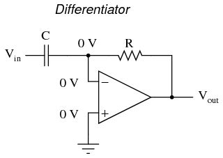 op capacitor resistor differentiator and integrator circuits operational lifiers electronics textbook