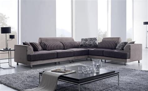 L Shaped Modern Sofa Contemporary L Shaped Sofa Design Ideas