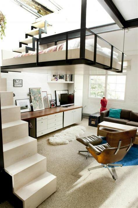 Space Saving Bedroom Furniture by 60 Id 233 Es Pour Un Am 233 Nagement Petit Espace Archzine Fr