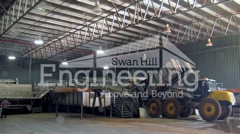 Production Shed by Industrial Production Buildings Packing Sheds Swan