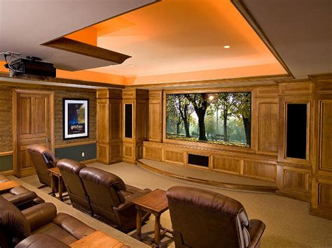 home theater design ideas on a budget basement home theaters and media rooms pictures tips