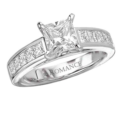 Square Engagement Rings by Square Shaped Engagement Rings Wedding And Bridal
