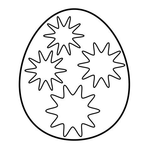 mandalas de pascuas para imprimir y colorear colorear mandala huevo de pascua estrellas dibujo para colorear e