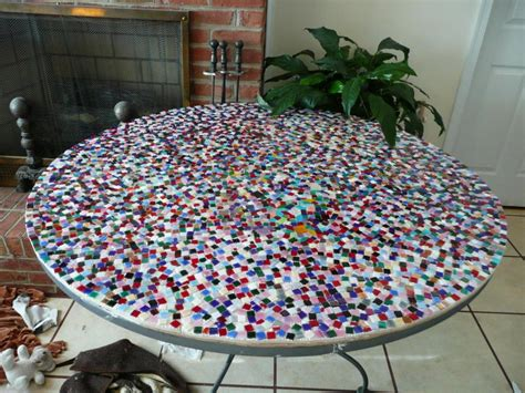 Design For Mosaic Patio Table Ideas Design Of Mosaic Tile Table House Photos
