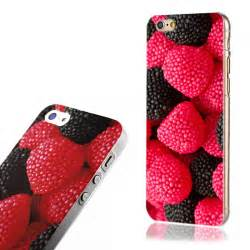 Fruit Iphone For 6 S for apple iphone 4s 5s 6s 6s plus strawberry fruit