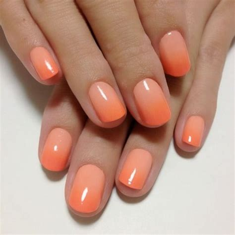 ombre pattern nails the 25 best orange ombre nails ideas on pinterest coral