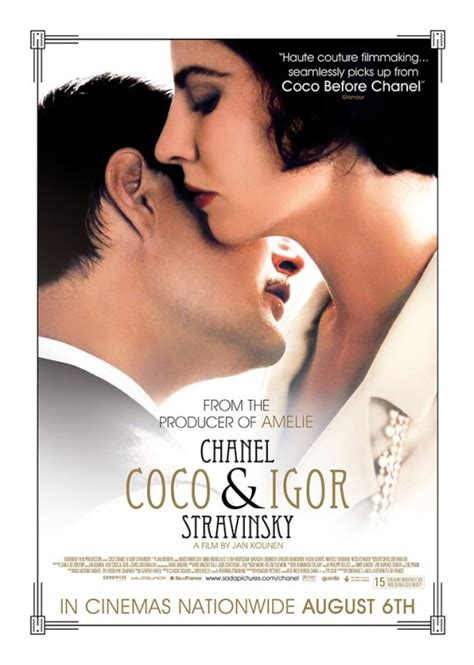 film coco chanel on line coco chanel igor stravinsky movie poster affiche 4