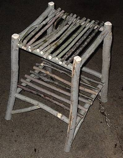 Sticks N Stuff Furniture by Willow Twig Furniture 8 Steps With Pictures