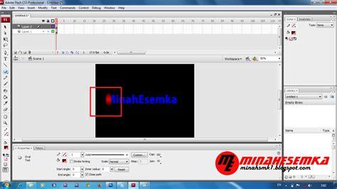cara membuat gambar transparan pada flash cara membuat animasi teks dengan motion tween di flash