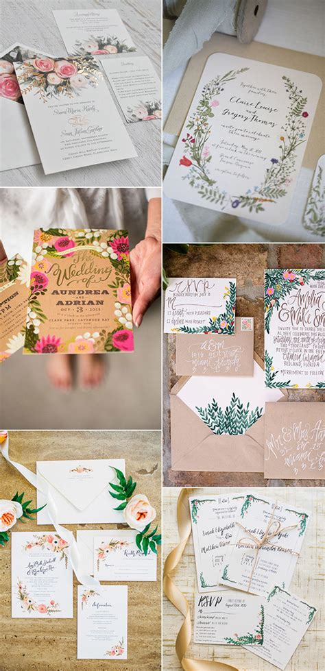 Wedding Invitation Garden Theme by 2017 Wedding Trends Archives Oh Best Day