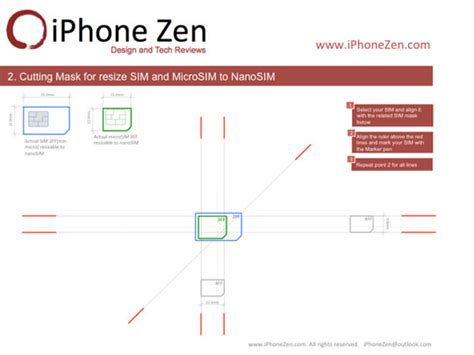 iphone iphone zen nano sim template
