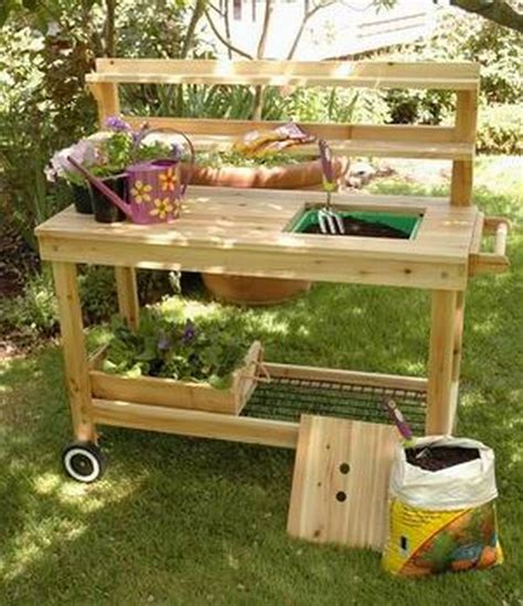 garden potting bench plans pictures of potting benches view large image of lg