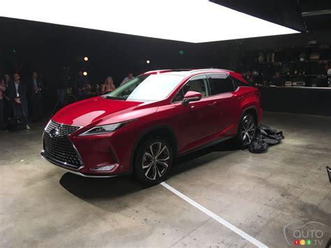 lexus rx revealed including hybrid version car
