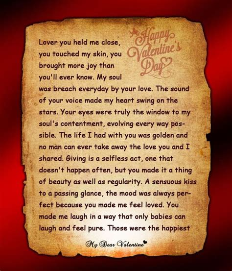 letter to my boyfriend on valentines day the world s catalog of ideas