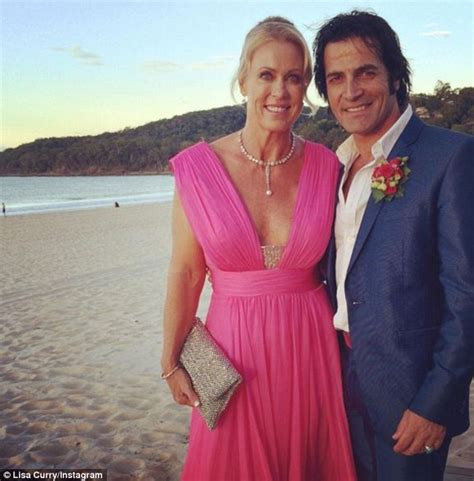 what is wrong with lisa rings husband lisa curry may have secretly married boyfriend mark andrew