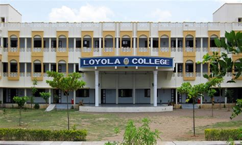 Loyola Chennai Mba Fees by Loyola College Vettavalam Tiruvannamalai Images Photos