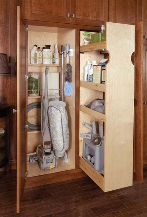 broom cupboard images  pinterest organizers