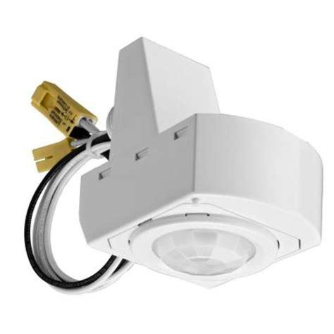 Lithonia Lighting 360 Degree Mounted White Motion Sensor Motion Sensing Light Fixtures