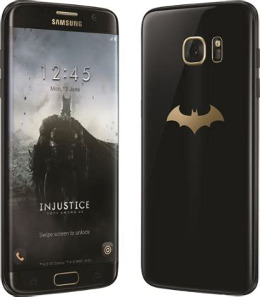 samsung galaxy s7 edge batman edition sm g9350 galaxy s7 edge injustice edition phone