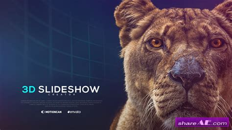 Videohive 3d Slideshow Creator 187 Free After Effects Templates After Effects Intro Template 3d Photos Slideshow After Effects Template