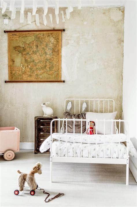 imagenes vintage bebes habitaci 243 n infantil vintage con cama de forja