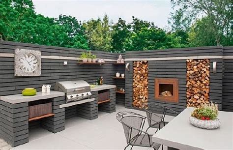 eye catching modern outdoor kitchen ideas stainless steel 40 environment friendly outdoor kitchen ideas to inspire you