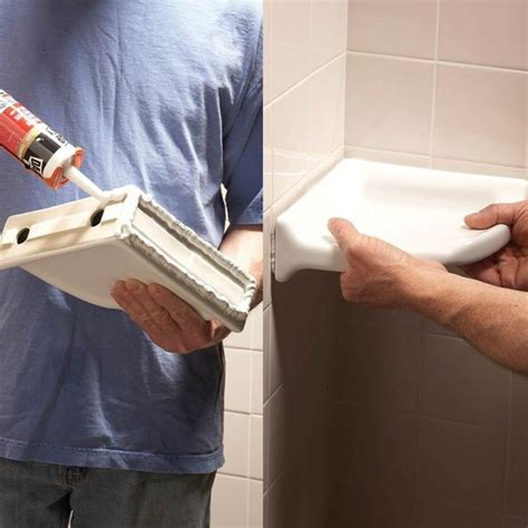 how to install a shower in an existing bathtub diy corner shelf corner shelves and shower shelves on