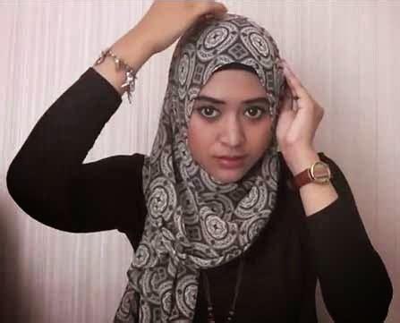 tutorial hijab segi empat jalan jalan cara memakai jilbab segi empat tutorial hijab modern 2017