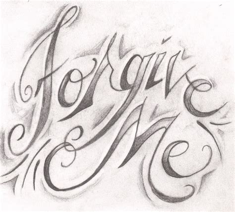 forgive tattoo designs forgive me by captainseven on deviantart