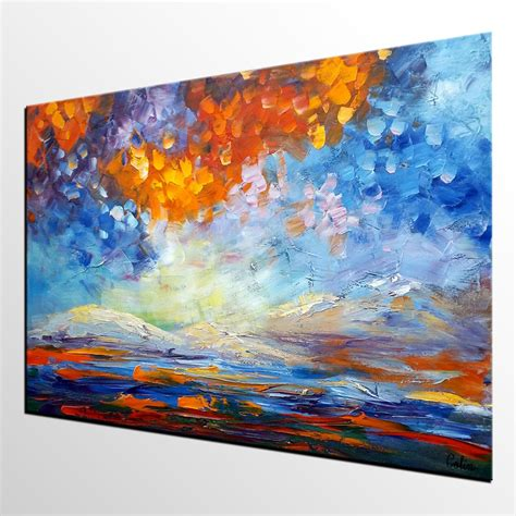 large paintings extra large painting canvas art oil painting large art abstract art large p paintings