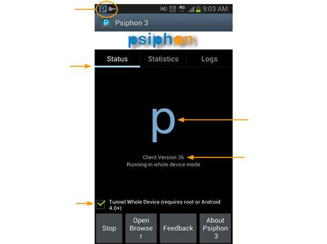 psiphon 3 for android psiphon how to use psiphon on mobile and windows