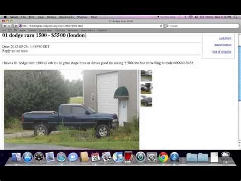 Craigslist South Bend Furniture by Craigslist Youngstown Ohio Used Cars And Trucks For Sale