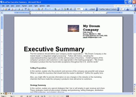43 Free Executive Summary Templates In Word Excel Pdf Executive Summary Template Microsoft Word